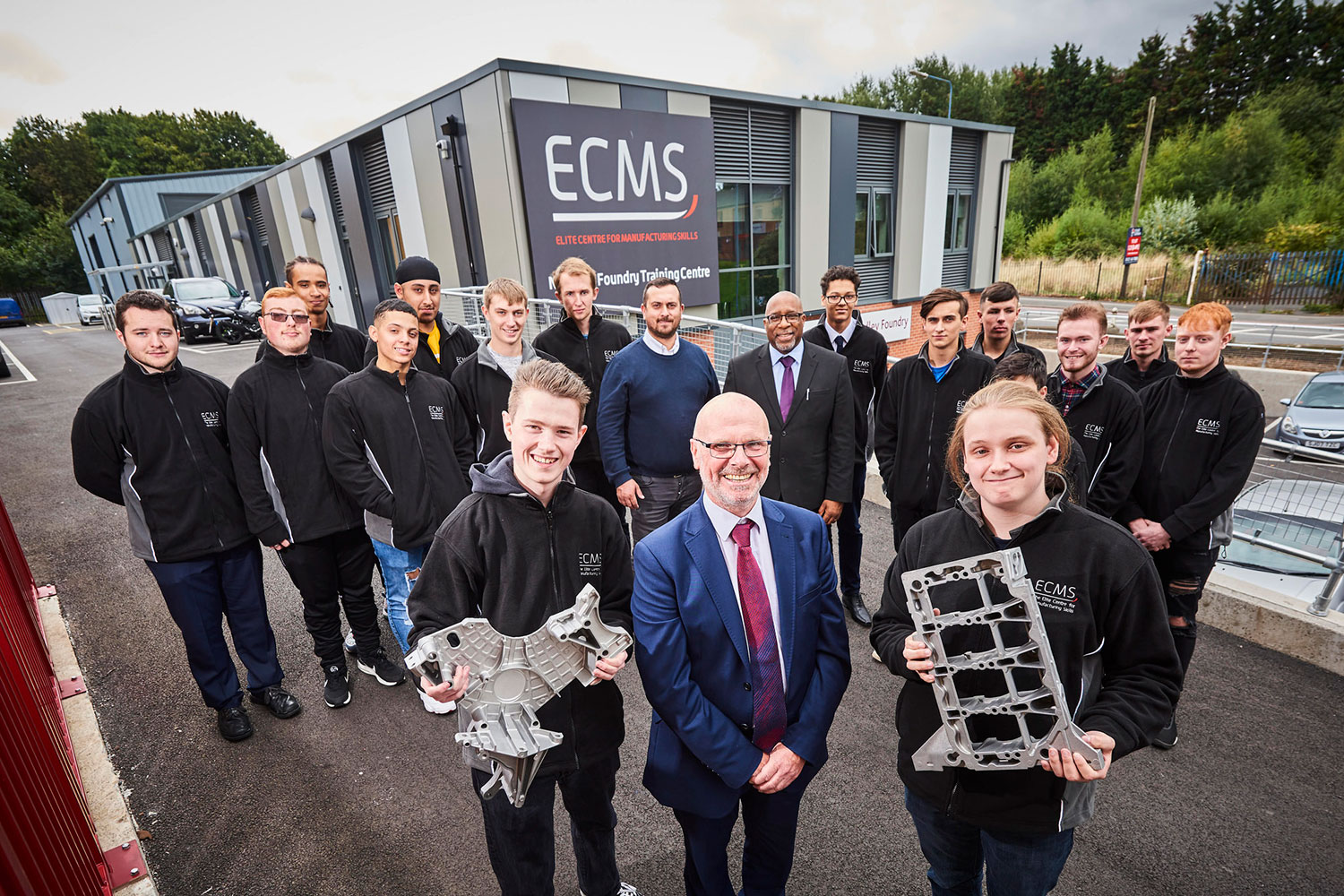 Apprentices get fired up about manufacturing at new foundry - Elite Centre for Manufacturing Skills (ECMS)